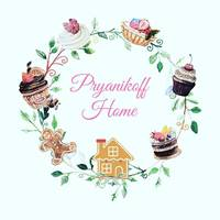 «Pryanikoff home» — домашня кондитерська — Все для свята