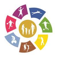 Міський центр спорту — Спортивні зали, секції