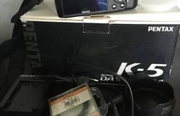 Фотоаппарат Pentax k5