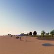Центральний пляж міста Біла Церква