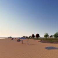 Центральний пляж міста Біла Церква — Пляжі